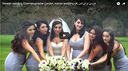 Persian wedding video London Iranian photographer & cinematographer.